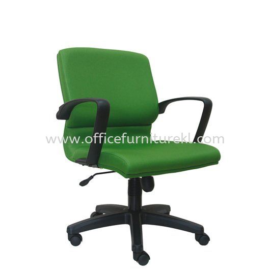 ECO STANDARD LOW BACK FABRIC CHAIR WITH POLYPROPYLENE BASE ASE 223