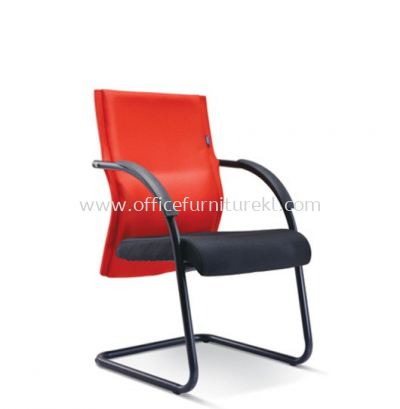 MAGINE STANDARD VISITOR FABRIC CHAIR WITH EPOXY BLACK CANTILEVER BASE ASE 2395