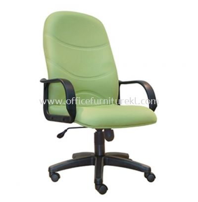 KIND STANDARD HIGH BACK FABRIC CHAIR WITH POLYPROPYLENE BASE ASE 8001