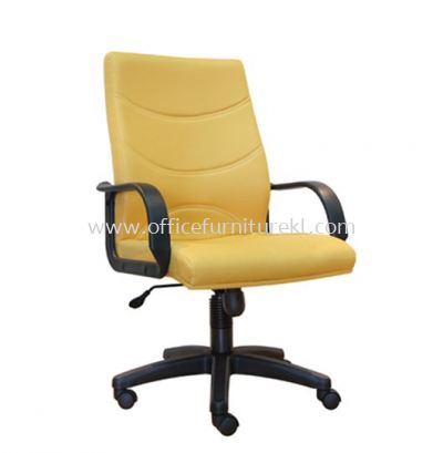 REFORM STANDARD MEDIUM BACK FABRIC ARM CHAIR WITH POLYPROPYLENE BASE
