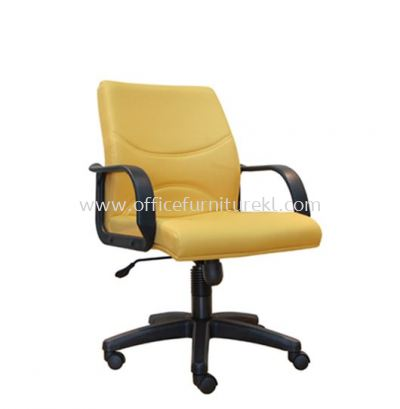 REFORM STANDARD LOW BACK FABRIC CHAIR WITH POLYPROPYLENE BASE