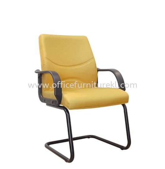 REFORM STANDARD VISITOR FABRIC CHAIR WITH EPOXY BLACK CANTILEVER BASE