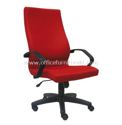 VIPSA STANDARD HIGH BACK FABRIC CHAIR C/W POLYPROPYLENE BASE