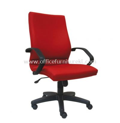VIPSA STANDARD MEDIUM BACK FABRIC CHAIR C/W POLYPROPYLENE BASE