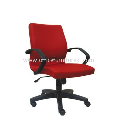 VIPSA STANDARD LOW BACK FABRIC CHAIR C/W POLYPROPYLENE BASE