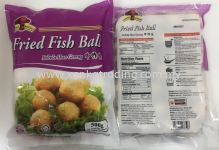 XK803 Fried Fish Ball (M) 500gm 炸丸(中) (HALAL)