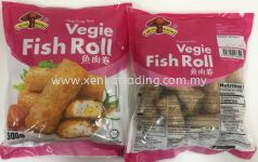 XK799 Vegie Fish Roll 500gm 鱼肉卷 (HALAL)