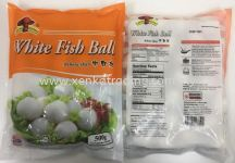 XK802 White Fish Ball (M) 500gm 白丸(中) (HALAL)