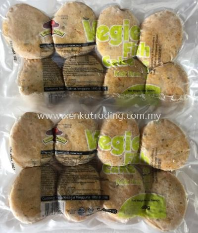 XK800 Vegie Fish Cake 480gm 炸菜饼 (HALAL)