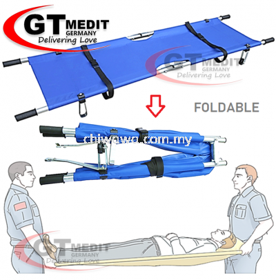 �� RM143��PatientTransport Hospital Emergency Stretcher First Aid Oxford Cloth Aluminium Bracket + 2