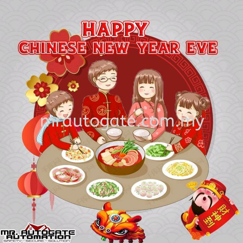 Happy Chinese New Year Eve For All Malaysian