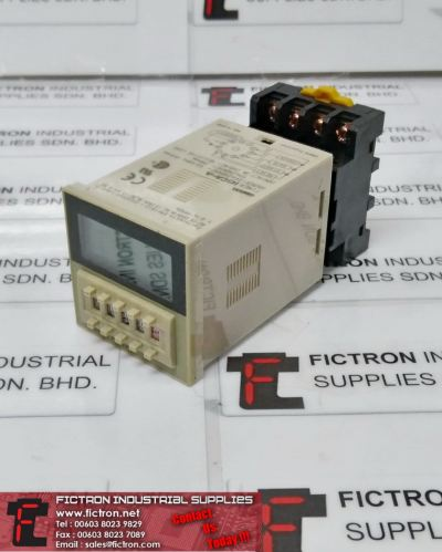 H3CA-A H3CAA OMRON Solid State Timer Supply Malaysia Singapore Indonesia USA Thailand