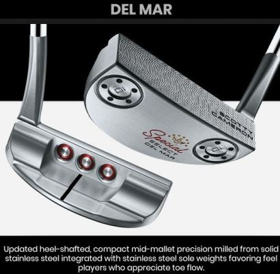 Scotty Cameron Special Select Del Mar Putter