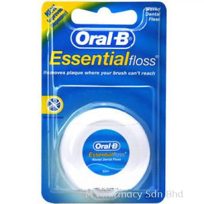 ORAL B ESSENTIAL FLOSS (WAXED) 50M