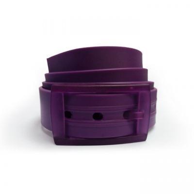 Unisex Silicone Belt - Purple/Purple