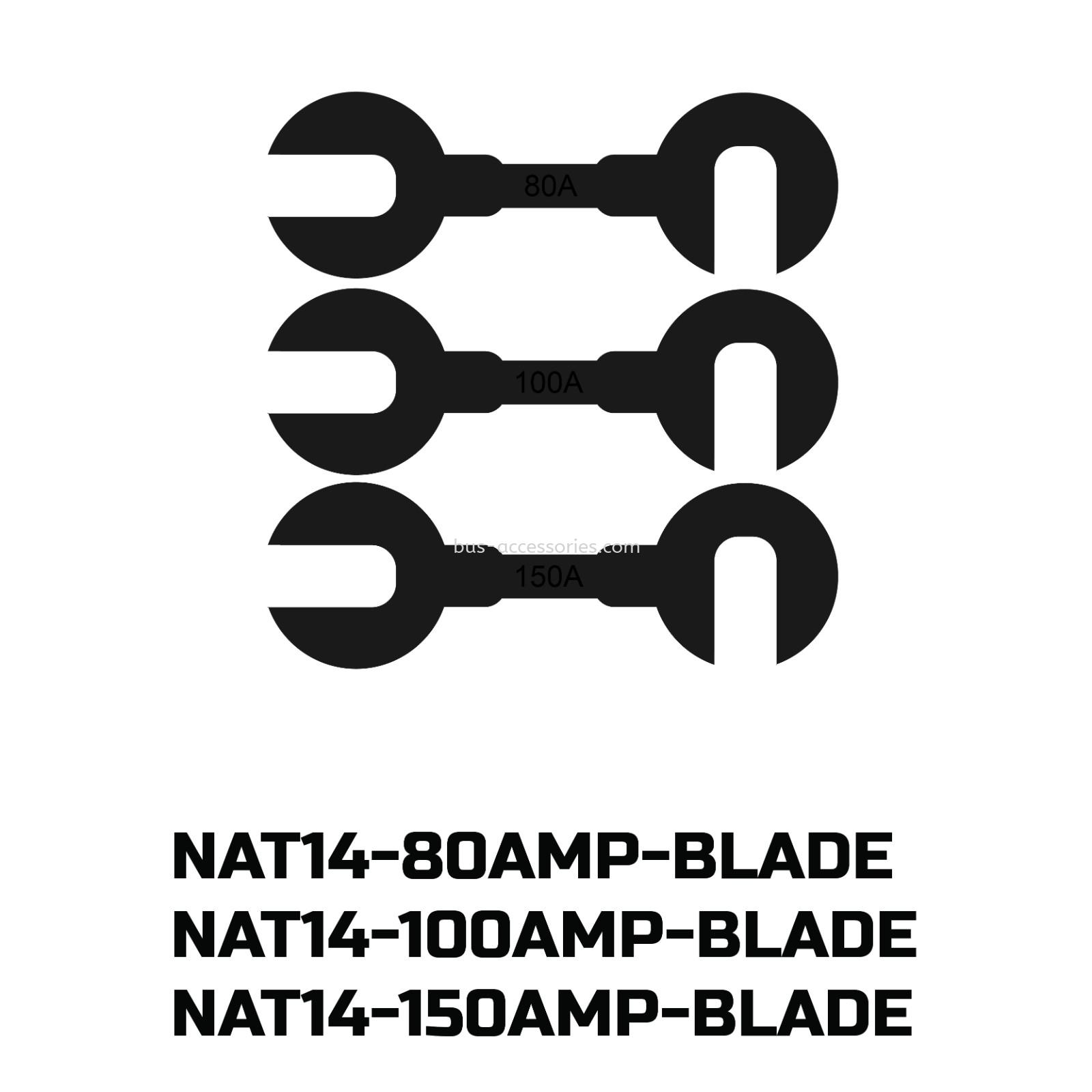 Fuse Blade 80AMP-100AMP-150AMP