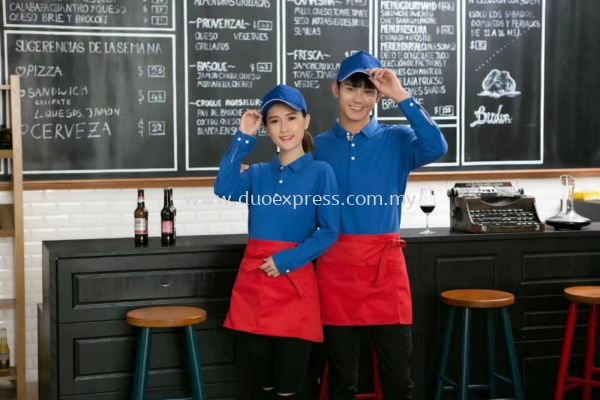 Hawker Centre & Fast Food Concept Uniform