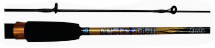 4104 ANGRY FISH PRAWN ROD (HOLLOW/SOLID TOP) Fishing Rod