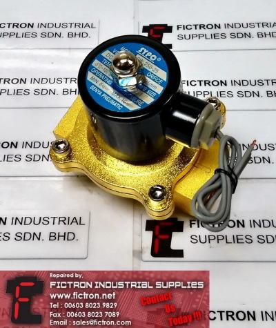 2W-250-25 2W25025 SYPC Pneumatic Solenoid Valve Supply Malaysia Singapore Indonesia USA Thailand Australia