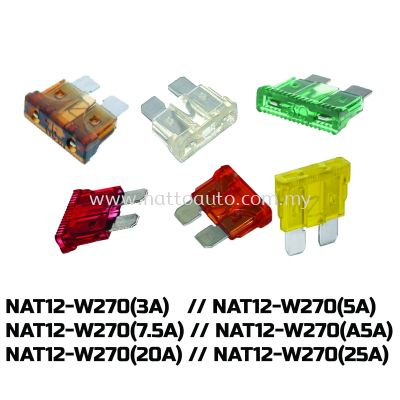 Assorted Car Medium Blade Fuse LED FUSE CAR, LORRY AUTOMOTIVE CAR 3A 5A 7.5A 10A 15A 20A 25A