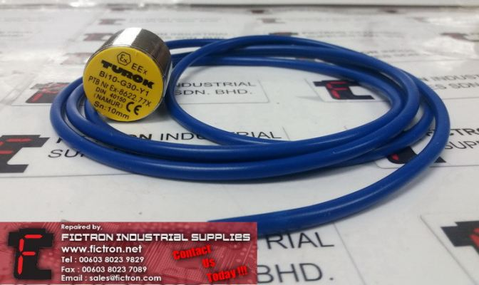 BI10-G30-Y1 BI10G30Y1 TURCK Inductive Sensor Supply Malaysia Singapore Indonesia USA Thailand