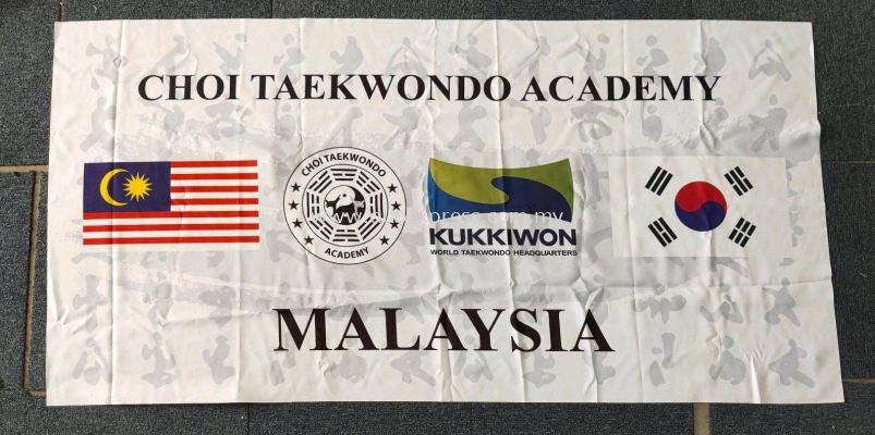 Custom Made Taekwondo Flag & Banner