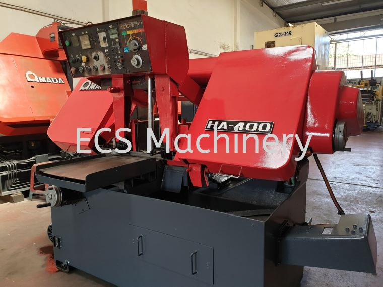 USED AMADA HA400 FULLY AUTO BANDSAW Bandsaw Machine