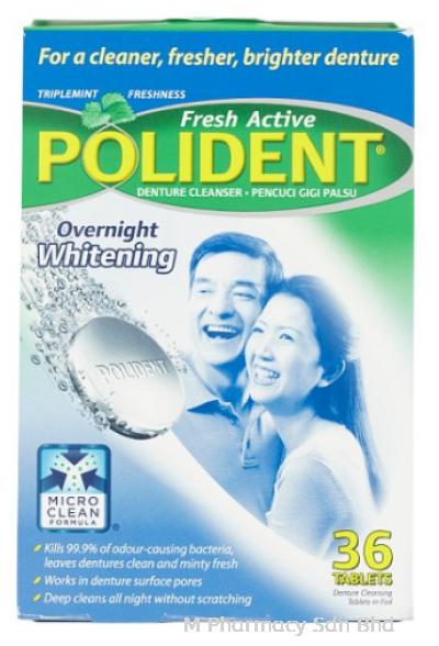 Polident Whitening 36s