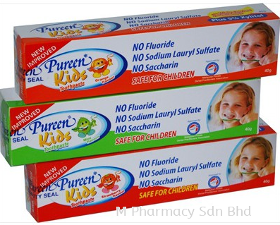 Pureen Kids Toothpaste Mint 75g