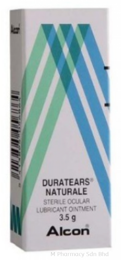 Duratears Naturale Eye Ointment