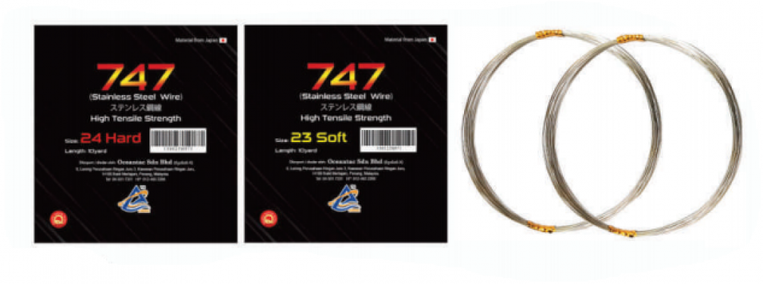 747 STAINLESS STEEL WIRE