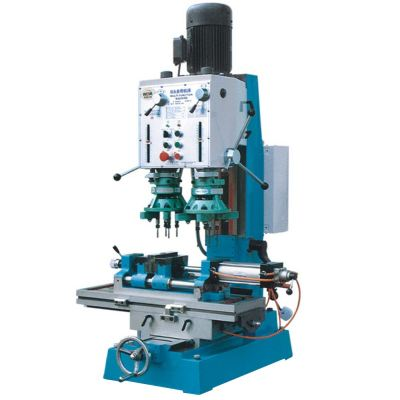 Xest Ling ZXSM45A is a drilling & tapping machine with double spindle