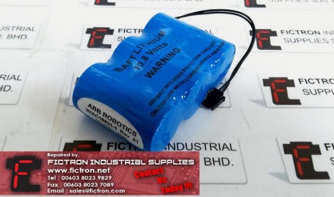 3HAC16831-1 3HAC168311 ABB ROBOTICS Battery Pack Supply Malaysia Singapore Indonesia USA Thailand