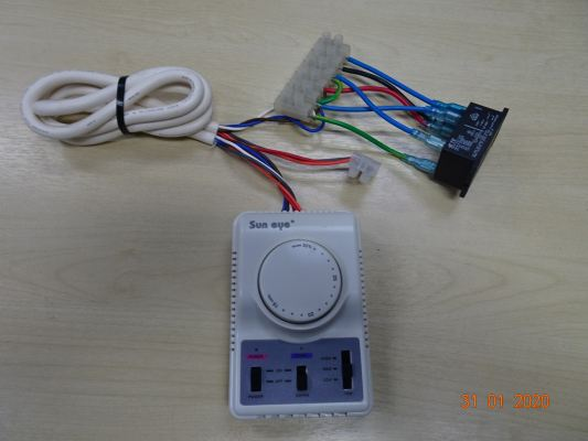 SUN EYE (TRM 2) THERMOSTAT C/W POWER RELAY & ACCESSORIES