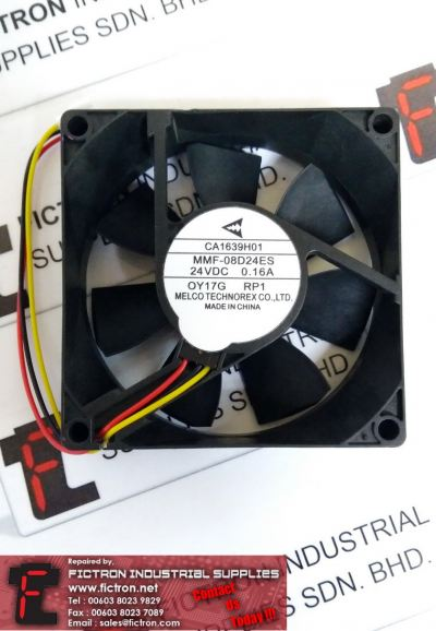 MMF-08D24ES MMF08D24ES MELCO Cooling Fan Supply Malaysia Singapore Indonesia USA Thailand