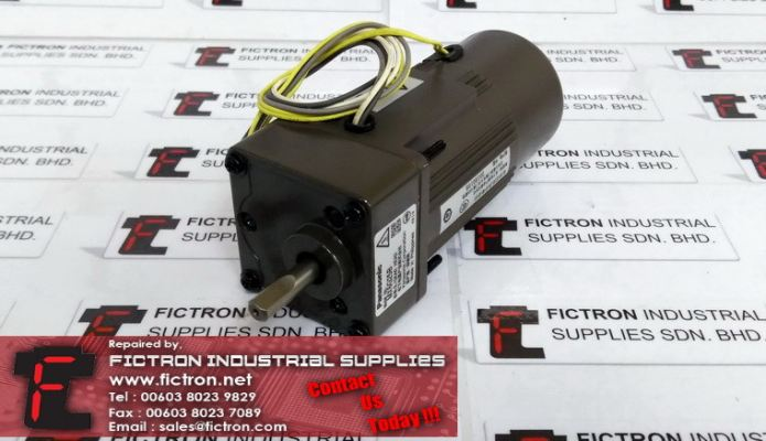 MX6G25B PANASONIC Geared Motor Supply Repair Malaysia Singapore Indonesia USA Thailand