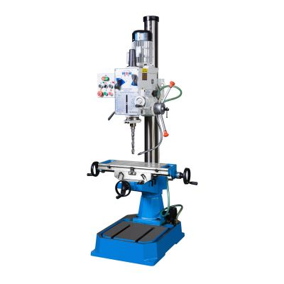 Xest Ling ZX40BPC gear head auto-feed drilling & milling machine