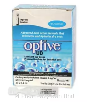 Optive Advance Unit Dose Eyedrop (30x0.4ml)