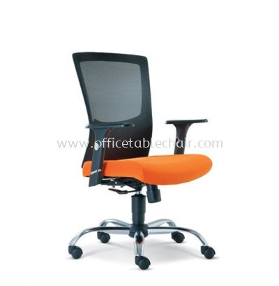VICTORY LOW BACK MESH CHAIR WITH CHROME METAL BASE ASE 2682