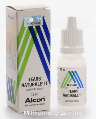 Tears Naturale II Lubricant Eye Drops