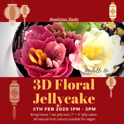 3D Floral Jelly Cake Workshop