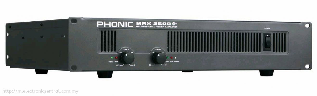 PHONIC POWER AMPLIFIER MAX2500