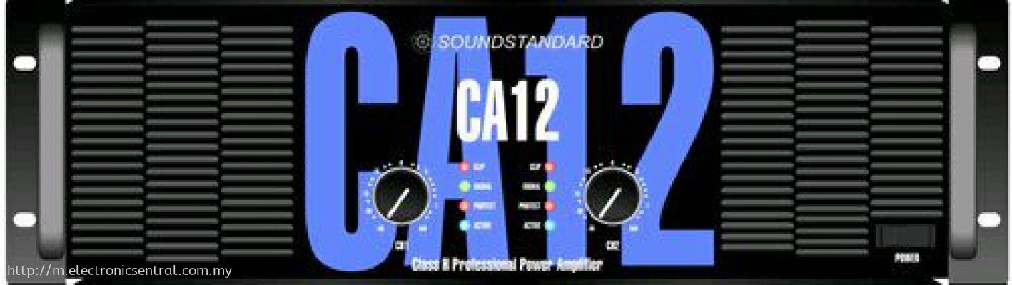 SOUNDSTANDART POWER AMPLIFIER CA12