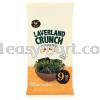 韩国紫菜~海盐味(Manjun Laverland Crunch Sea Salt Flavor) 9pack 零食 (Snack) 韩国食品 (Korean Snack)