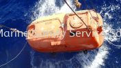 Lowering Lifeboat For Sea Trials  Lifeboat and Rescue Boat