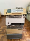 Secondhand - 250-sheet paper cassette tray 2 assembly For several HP LaserJet