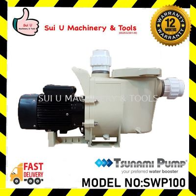 Tsunami Pump SWP100 Swimming Pool Self-Priming Water Pump