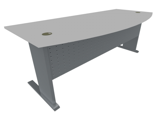 Office Table Metal Leg Type A (Grey)