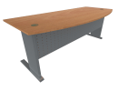 Office Table Metal Leg Type A (Beech) Office Table Table Loose Furniture