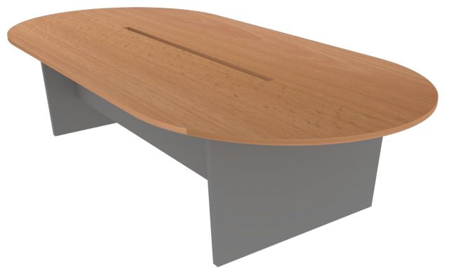 Meeting Table Oblong (Beech + Graphite)
